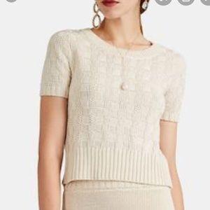 NEW Altuzarra short sleeve knit sweater